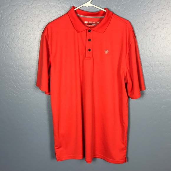 Ariat Other - ARIAT Tek Heat Series Men's Polo Size Large